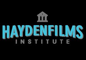 Haydenfilms Institute Logo 2014 Color on Black_updated